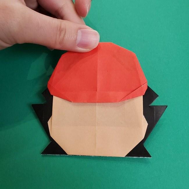 折り紙のサトシの作り方折り方4完成 (12)