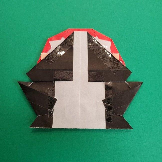 折り紙のサトシの作り方折り方4完成 (13)