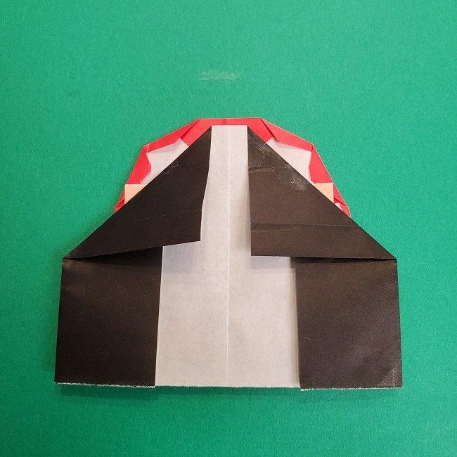 折り紙のサトシの作り方折り方4完成 (4)