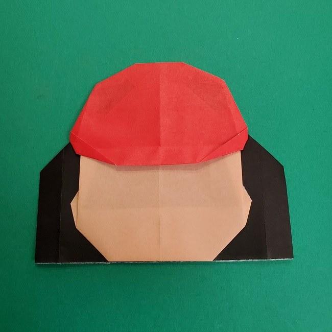 折り紙のサトシの作り方折り方4完成 (6)