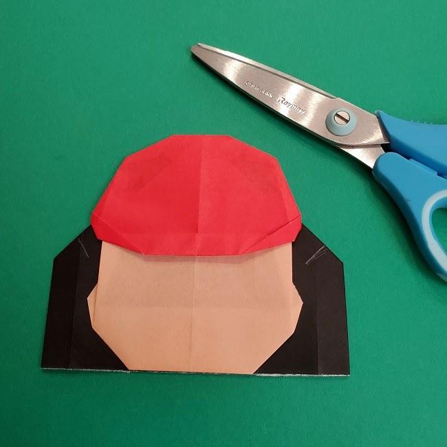 折り紙のサトシの作り方折り方4完成 (7)