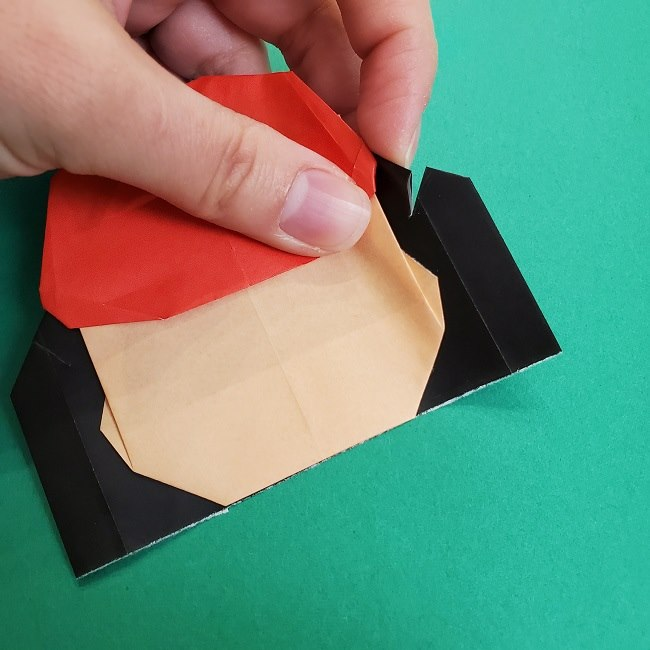 折り紙のサトシの作り方折り方4完成 (8)