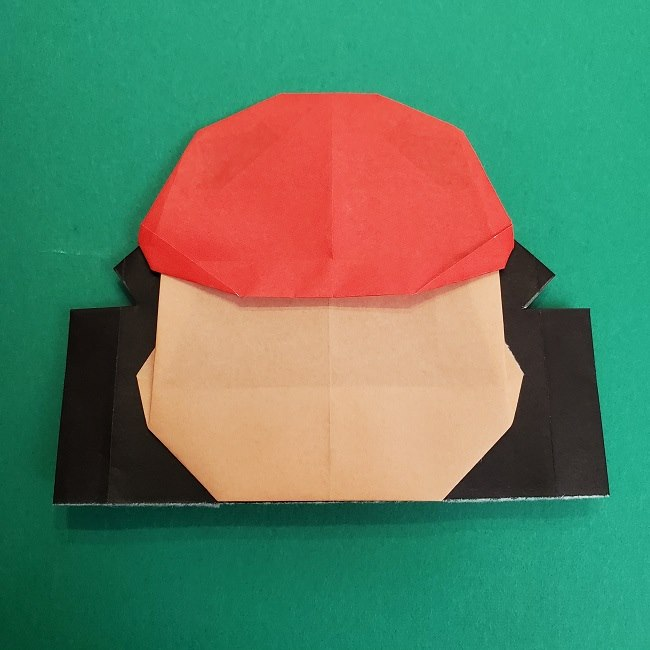 折り紙のサトシの作り方折り方4完成 (9)