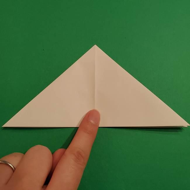 折り紙のヒバニーの折り方☆ポケットモンスター(10)