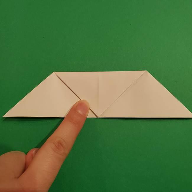 折り紙のヒバニーの折り方☆ポケットモンスター(12)