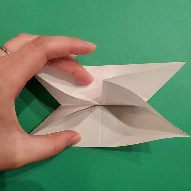 折り紙のヒバニーの折り方☆ポケットモンスター(14)