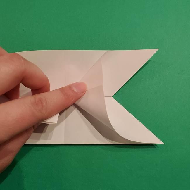 折り紙のヒバニーの折り方☆ポケットモンスター(15)