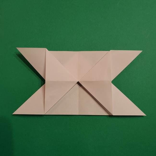 折り紙のヒバニーの折り方☆ポケットモンスター(16)
