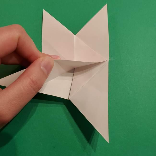 折り紙のヒバニーの折り方☆ポケットモンスター(18)