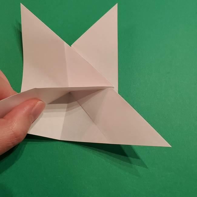 折り紙のヒバニーの折り方☆ポケットモンスター(19)