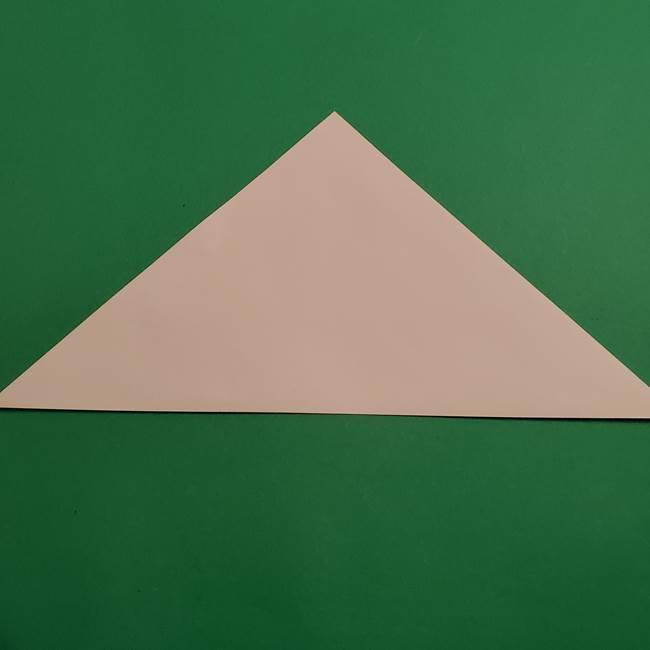 折り紙のヒバニーの折り方☆ポケットモンスター(2)