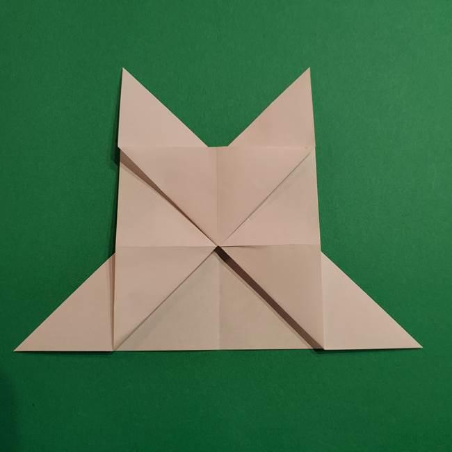 折り紙のヒバニーの折り方☆ポケットモンスター(21)