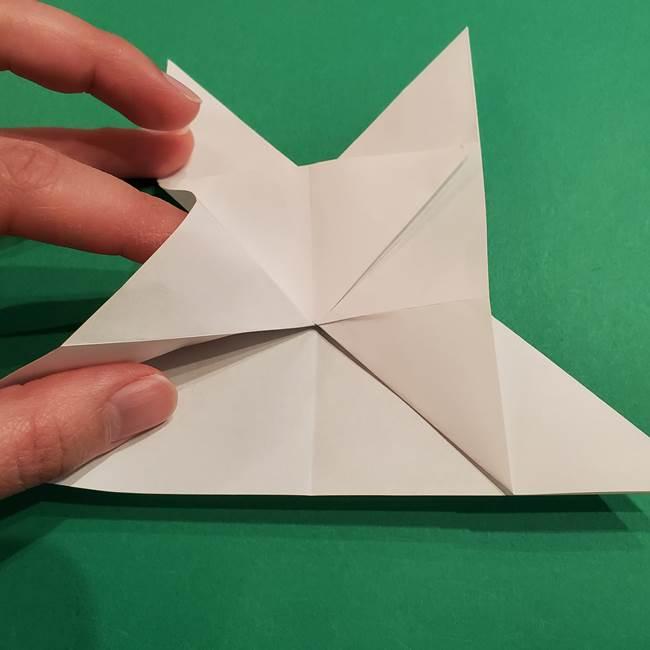 折り紙のヒバニーの折り方☆ポケットモンスター(22)