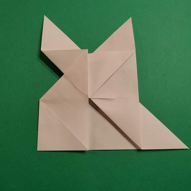 折り紙のヒバニーの折り方☆ポケットモンスター(24)