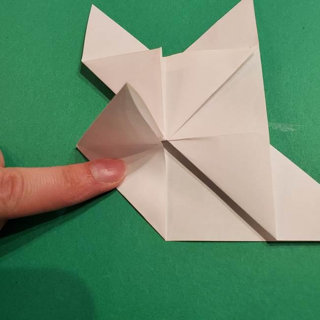 折り紙のヒバニーの折り方☆ポケットモンスター(25)