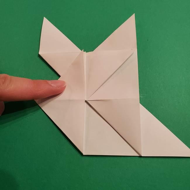 折り紙のヒバニーの折り方☆ポケットモンスター(26)