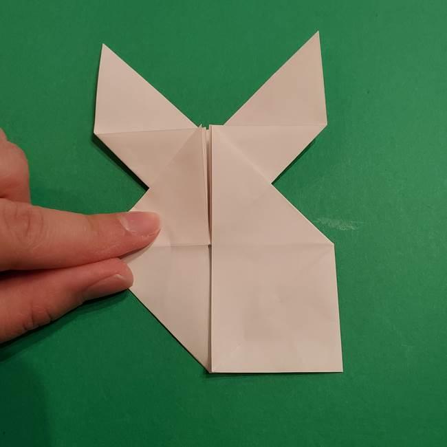 折り紙のヒバニーの折り方☆ポケットモンスター(27)