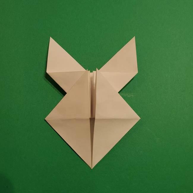 折り紙のヒバニーの折り方☆ポケットモンスター(28)
