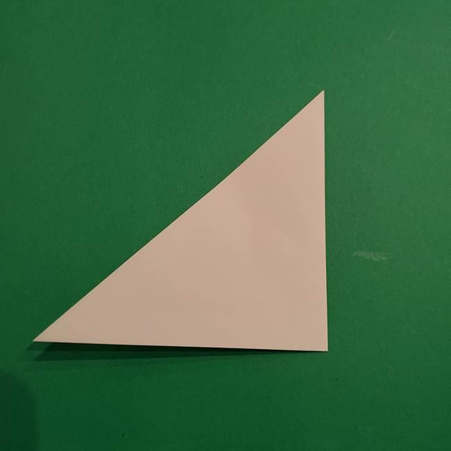折り紙のヒバニーの折り方☆ポケットモンスター(3)