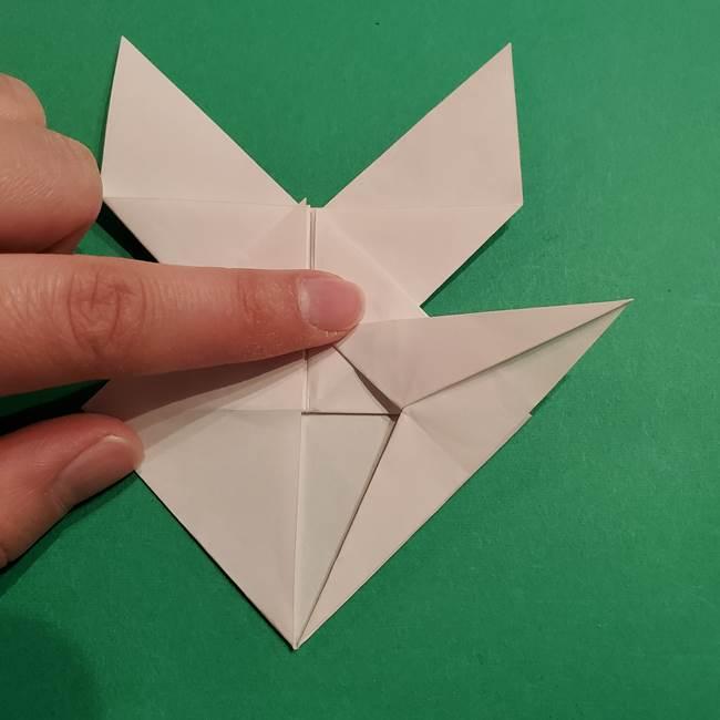 折り紙のヒバニーの折り方☆ポケットモンスター(31)