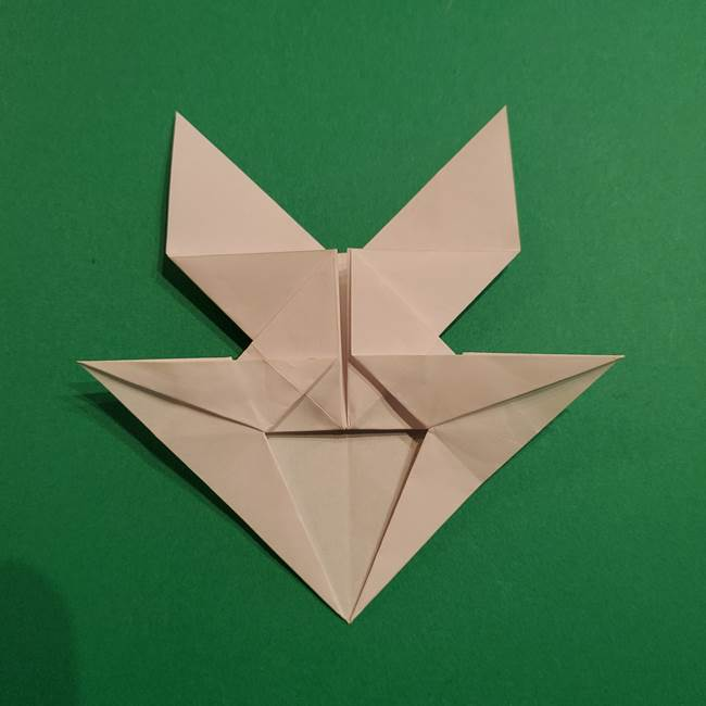 折り紙のヒバニーの折り方☆ポケットモンスター(32)