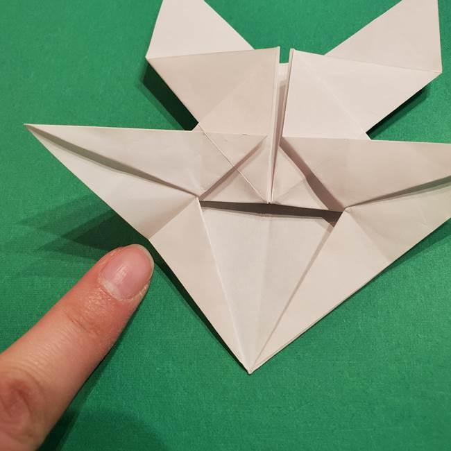 折り紙のヒバニーの折り方☆ポケットモンスター(33)