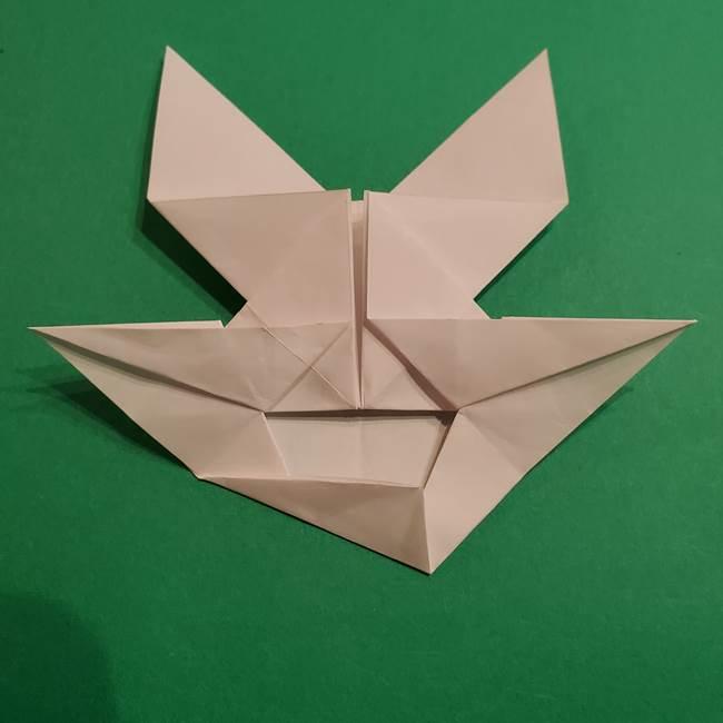 折り紙のヒバニーの折り方☆ポケットモンスター(34)