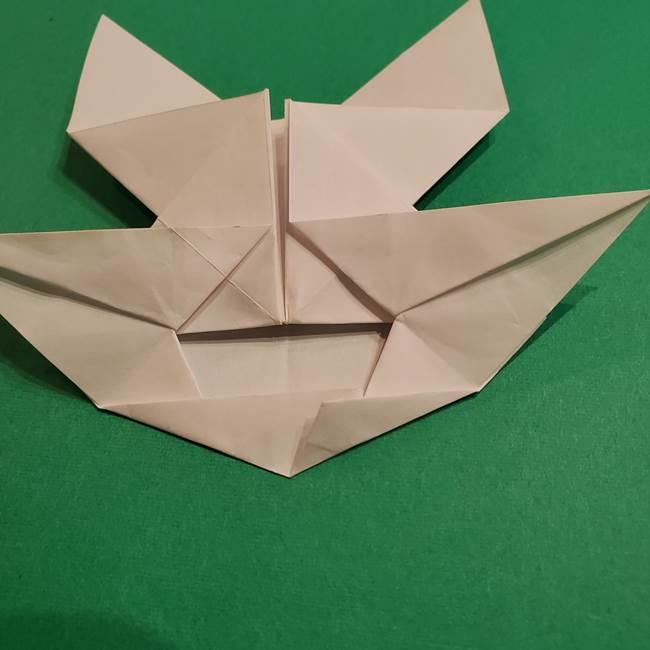 折り紙のヒバニーの折り方☆ポケットモンスター(35)