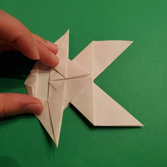 折り紙のヒバニーの折り方☆ポケットモンスター(36)