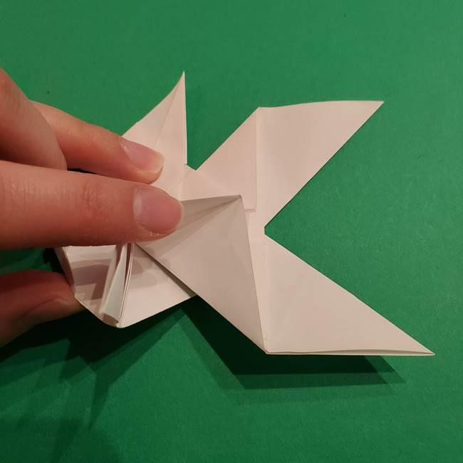 折り紙のヒバニーの折り方☆ポケットモンスター(37)
