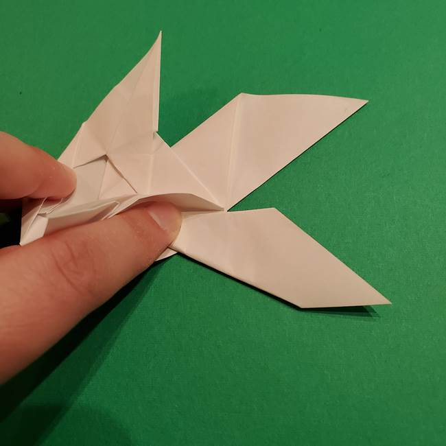 折り紙のヒバニーの折り方☆ポケットモンスター(38)
