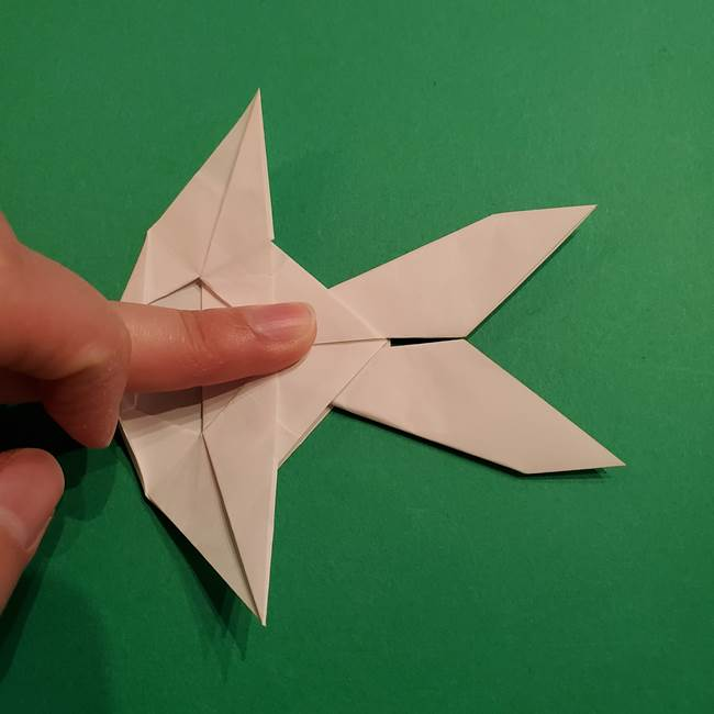 折り紙のヒバニーの折り方☆ポケットモンスター(39)