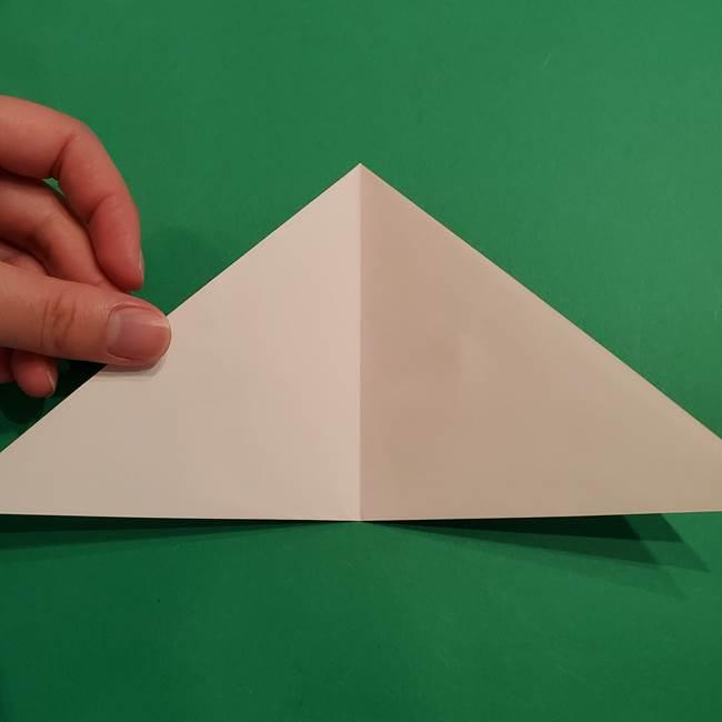 折り紙のヒバニーの折り方☆ポケットモンスター(4)