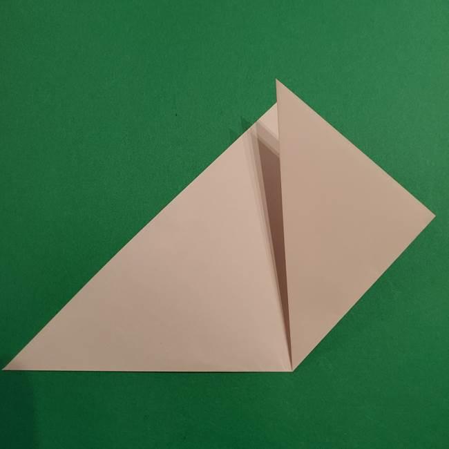 折り紙のヒバニーの折り方☆ポケットモンスター(5)