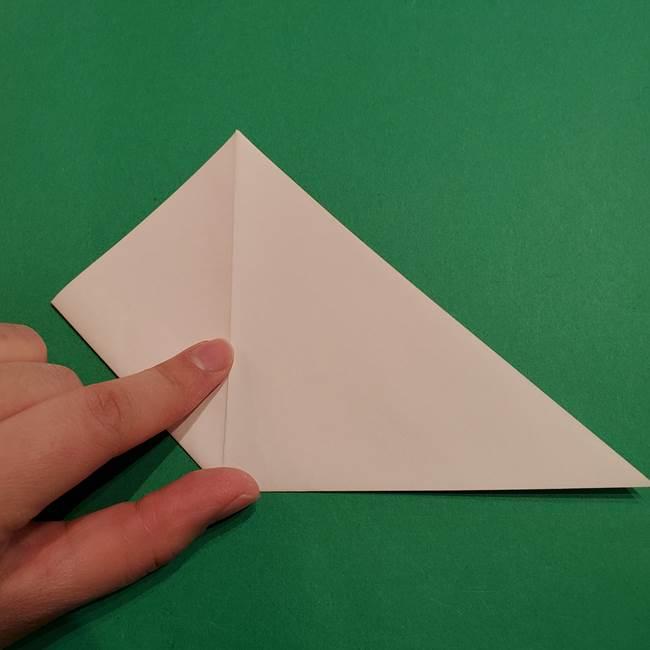 折り紙のヒバニーの折り方☆ポケットモンスター(6)