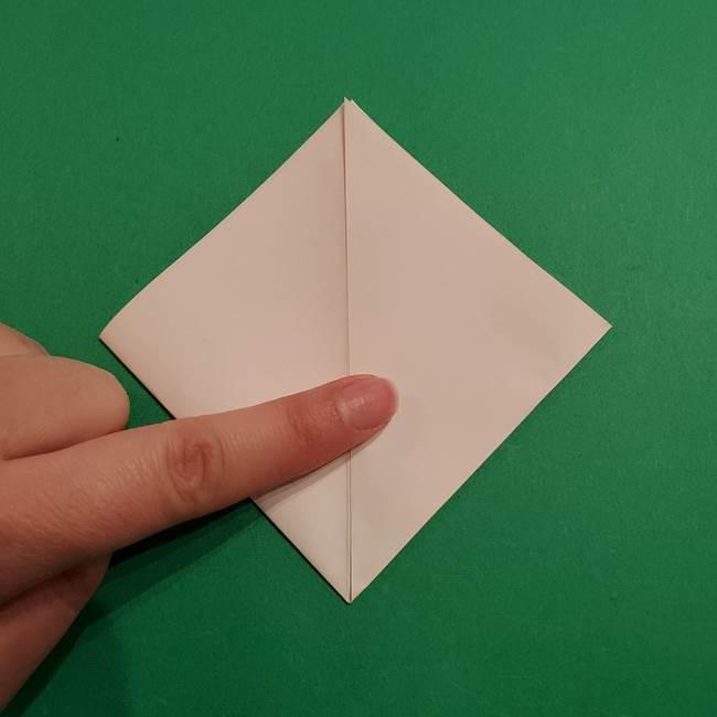 折り紙のヒバニーの折り方☆ポケットモンスター(7)