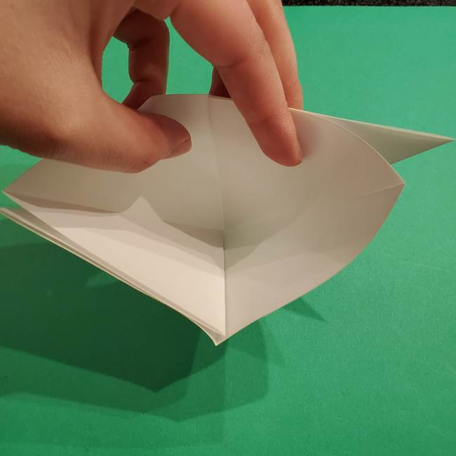 折り紙のヒバニーの折り方☆ポケットモンスター(9)