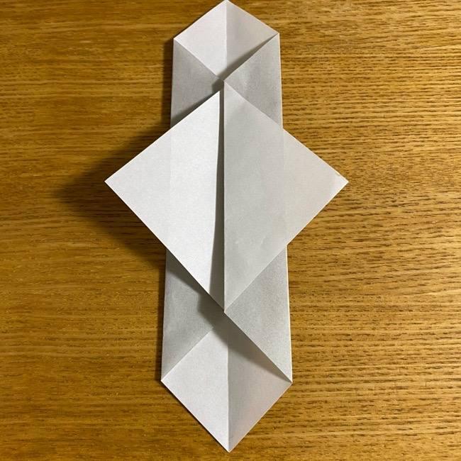 折り紙のフクロウはリアルでかわいい♪折り方作り方 (10)