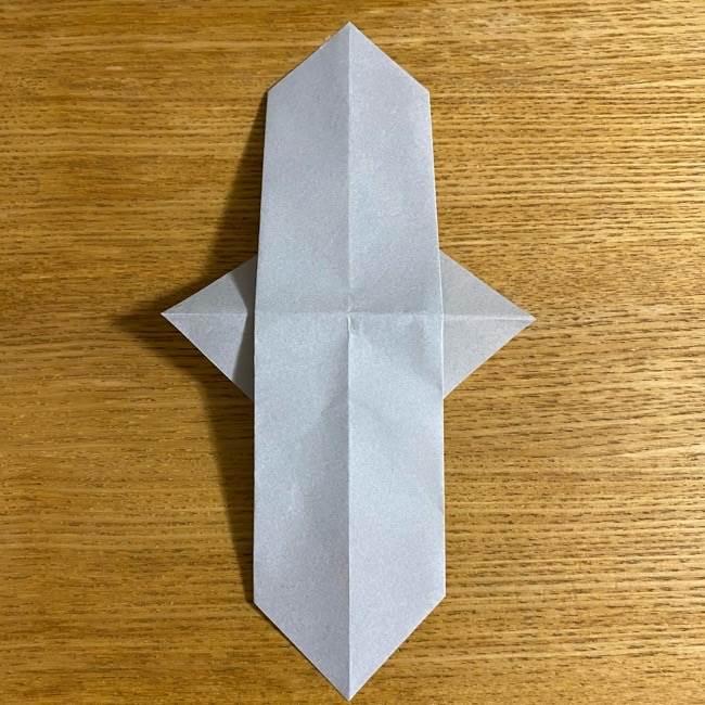 折り紙のフクロウはリアルでかわいい♪折り方作り方 (12)