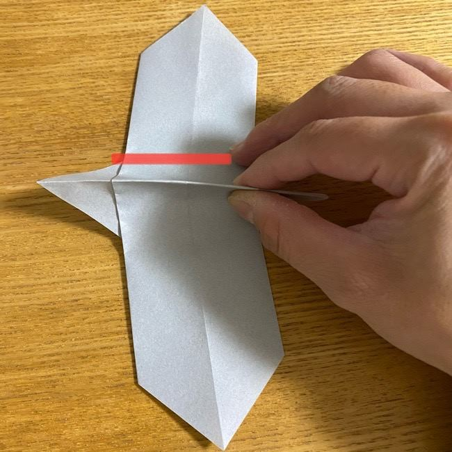 折り紙のフクロウはリアルでかわいい♪折り方作り方 (13)