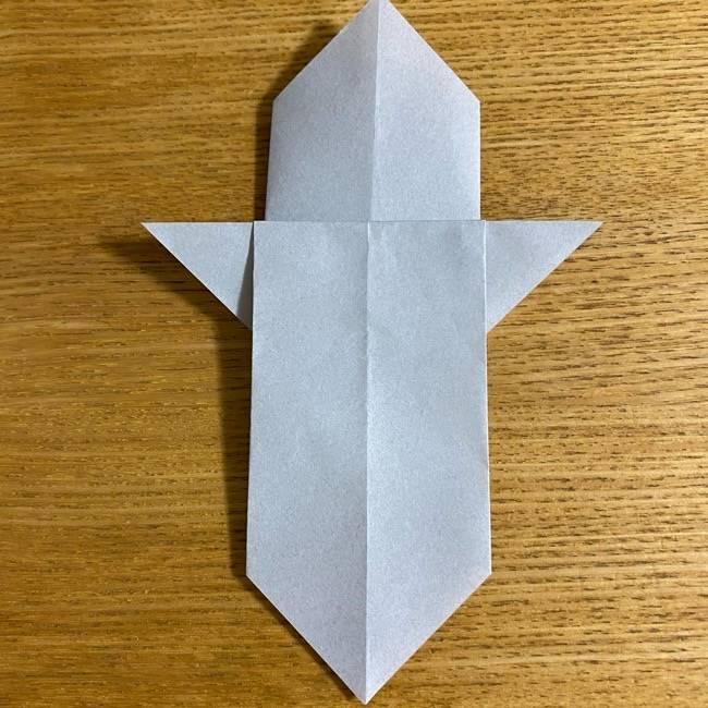 折り紙のフクロウはリアルでかわいい♪折り方作り方 (14)