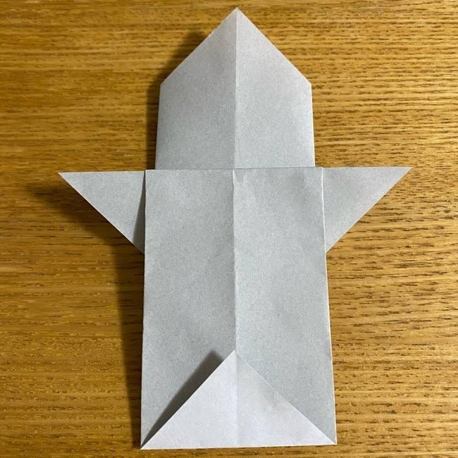 折り紙のフクロウはリアルでかわいい♪折り方作り方 (15)