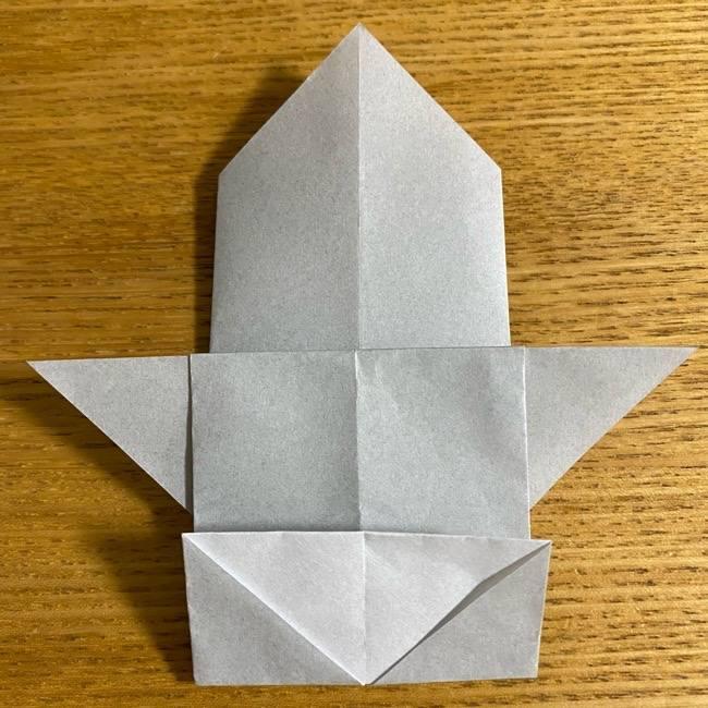 折り紙のフクロウはリアルでかわいい♪折り方作り方 (16)
