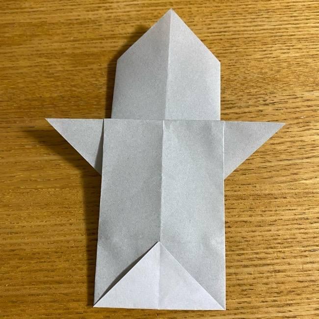 折り紙のフクロウはリアルでかわいい♪折り方作り方 (17)