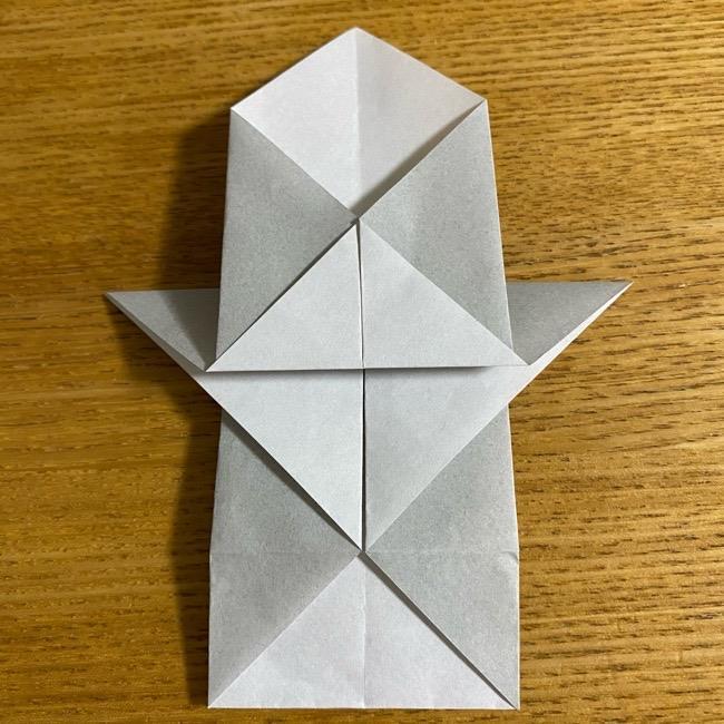 折り紙のフクロウはリアルでかわいい♪折り方作り方 (18)
