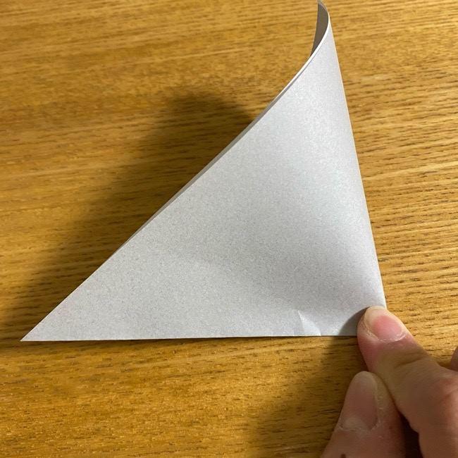 折り紙のフクロウはリアルでかわいい♪折り方作り方 (2)
