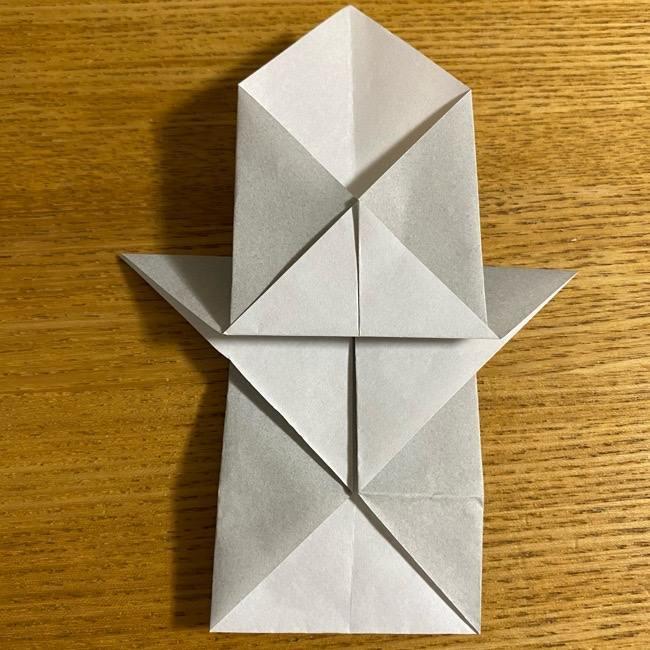 折り紙のフクロウはリアルでかわいい♪折り方作り方 (20)