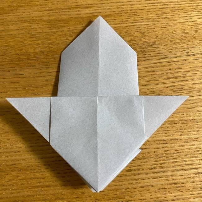 折り紙のフクロウはリアルでかわいい♪折り方作り方 (26)