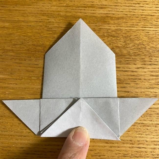 折り紙のフクロウはリアルでかわいい♪折り方作り方 (27)