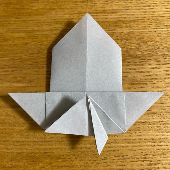 折り紙のフクロウはリアルでかわいい♪折り方作り方 (28)